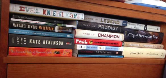 To-Be-Read Shelf Number Two