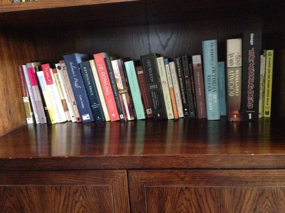 To-Be-Read Shelf Four
