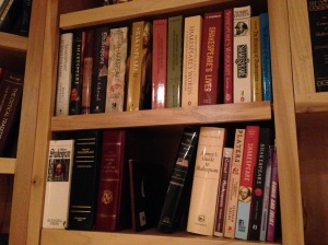 The Shakespeare Shelves
