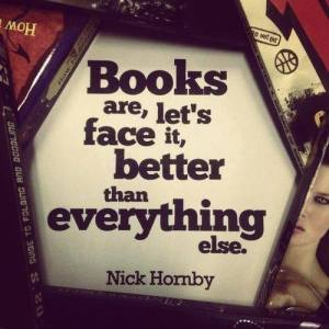 books are better than anything else