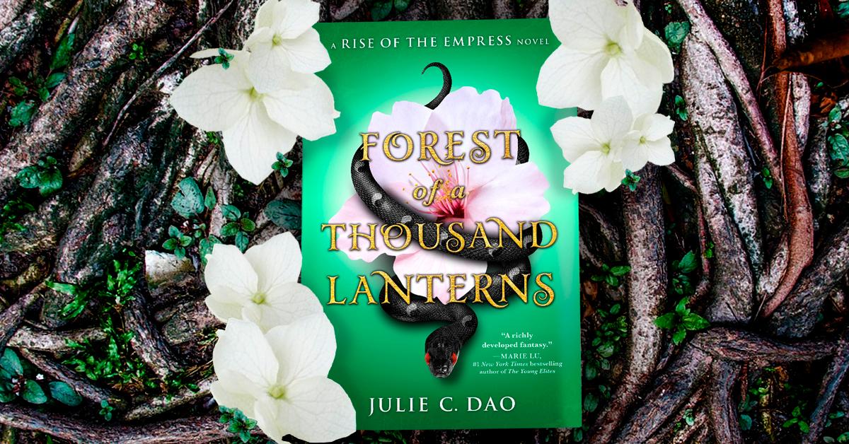 Spotlightforest Of A Thousand Lanterns By Julie Dao Wandering